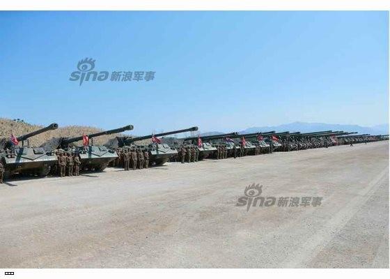 Cận cảnh uy lực pháo binh của Quân đội Nhân dân Triều Tiên trong diễn tập ảnh 54