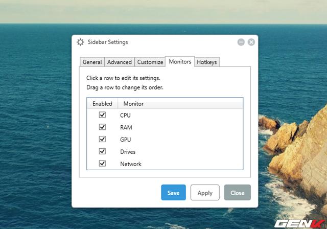 Hiển thị thông số phần cứng ở desktop Windows 10 ảnh 9