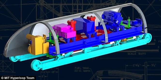 Tàu siêu tốc trong ống ngầm sẽ là phương tiện giao thông tương lai? ảnh 1