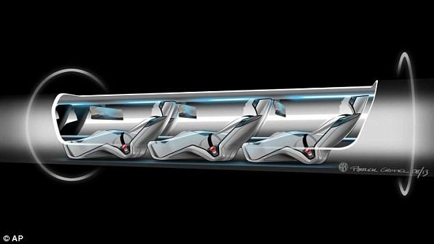 Tàu siêu tốc trong ống ngầm sẽ là phương tiện giao thông tương lai? ảnh 2