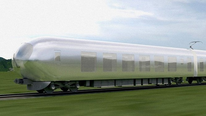 Xe lửa tàng hình Nhật Bản dự kiến ra mắt năm 2018 ảnh 1