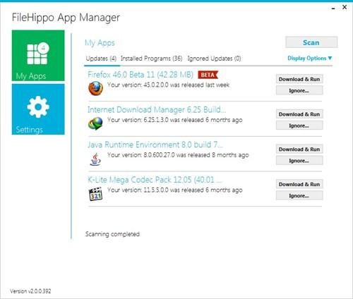 Cập nhật phiên bản mới cho các ứng dụng trên Windows ảnh 2