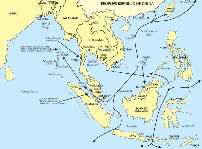 """Mỹ bóp nghẹt Trung Quốc với """"liên hoàn trận"""" tên lửa ảnh 1"""