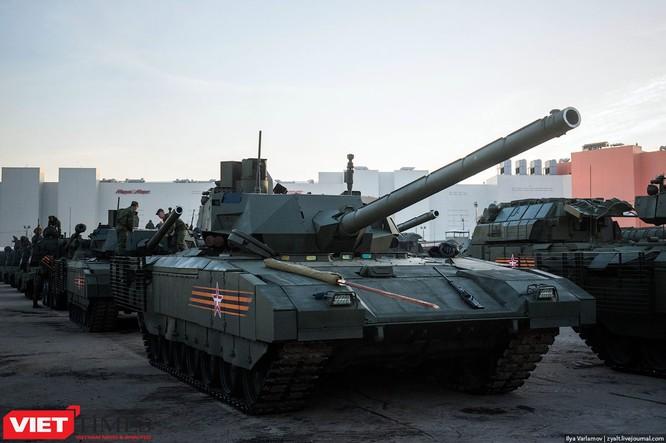 Cận cảnh hậu trường cuộc diễu hành ngày Chiến thắng quân đội Nga ảnh 4