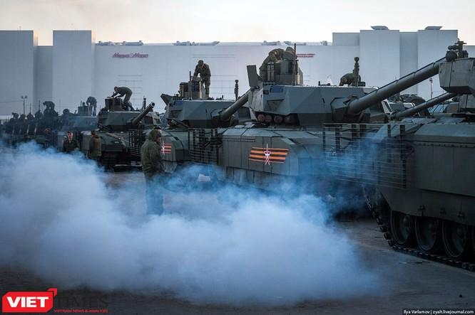 Cận cảnh hậu trường cuộc diễu hành ngày Chiến thắng quân đội Nga ảnh 5