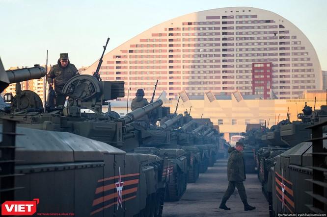 Cận cảnh hậu trường cuộc diễu hành ngày Chiến thắng quân đội Nga ảnh 6
