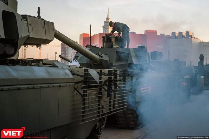 Cận cảnh hậu trường cuộc diễu hành ngày Chiến thắng quân đội Nga ảnh 7