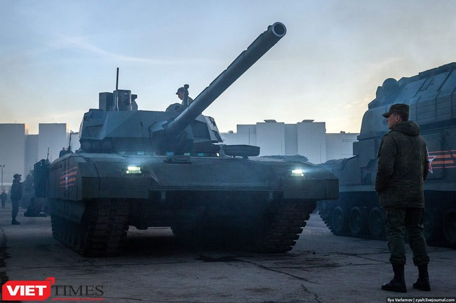 Cận cảnh hậu trường cuộc diễu hành ngày Chiến thắng quân đội Nga ảnh 8