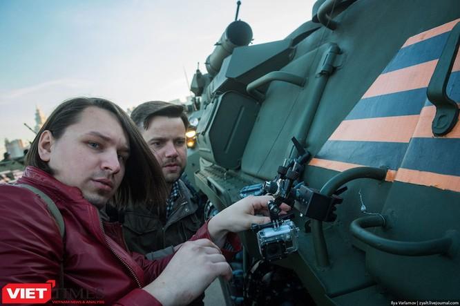 Cận cảnh hậu trường cuộc diễu hành ngày Chiến thắng quân đội Nga ảnh 13
