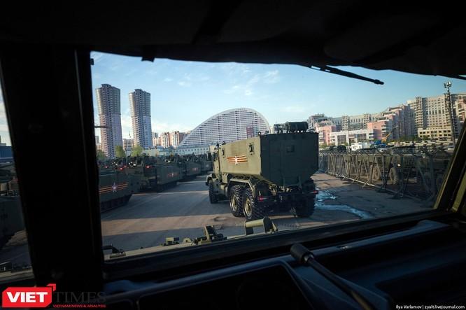 Cận cảnh hậu trường cuộc diễu hành ngày Chiến thắng quân đội Nga ảnh 14