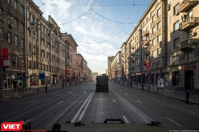 Cận cảnh hậu trường cuộc diễu hành ngày Chiến thắng quân đội Nga ảnh 18