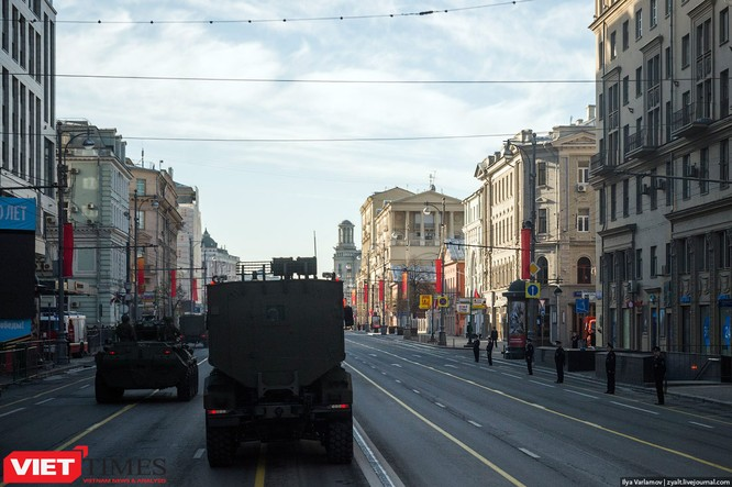 Cận cảnh hậu trường cuộc diễu hành ngày Chiến thắng quân đội Nga ảnh 19