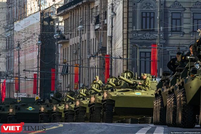 Cận cảnh hậu trường cuộc diễu hành ngày Chiến thắng quân đội Nga ảnh 20