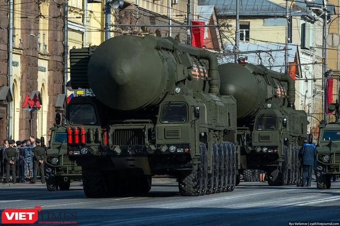 Cận cảnh hậu trường cuộc diễu hành ngày Chiến thắng quân đội Nga ảnh 22
