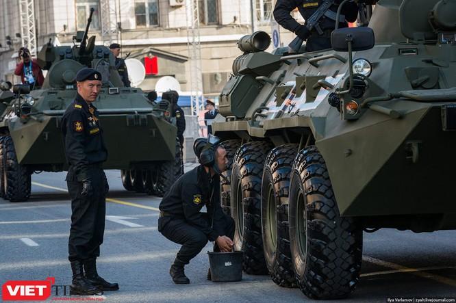Cận cảnh hậu trường cuộc diễu hành ngày Chiến thắng quân đội Nga ảnh 25