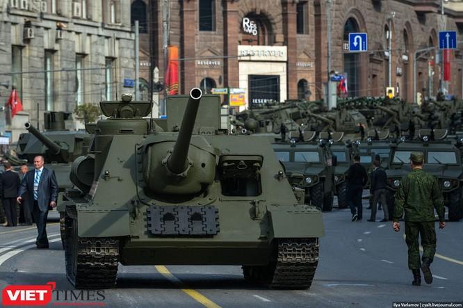 Cận cảnh hậu trường cuộc diễu hành ngày Chiến thắng quân đội Nga ảnh 26