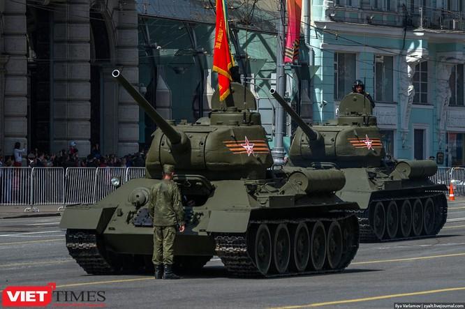 Cận cảnh hậu trường cuộc diễu hành ngày Chiến thắng quân đội Nga ảnh 27