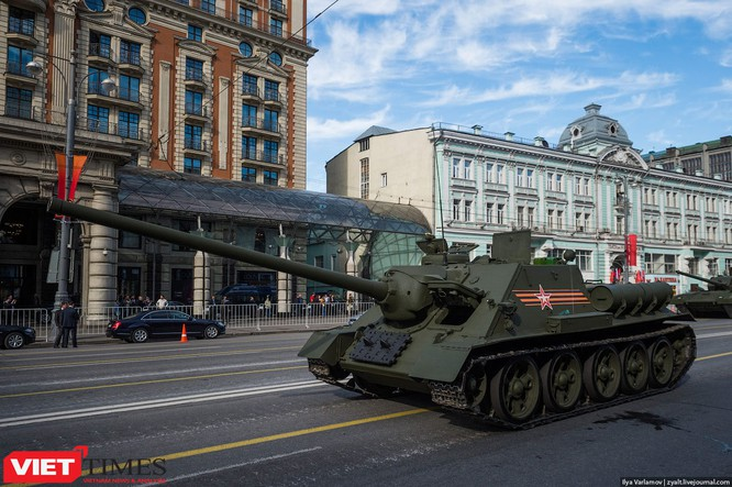 Cận cảnh hậu trường cuộc diễu hành ngày Chiến thắng quân đội Nga ảnh 28