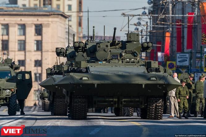 Cận cảnh hậu trường cuộc diễu hành ngày Chiến thắng quân đội Nga ảnh 30