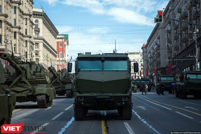 Cận cảnh hậu trường cuộc diễu hành ngày Chiến thắng quân đội Nga ảnh 31