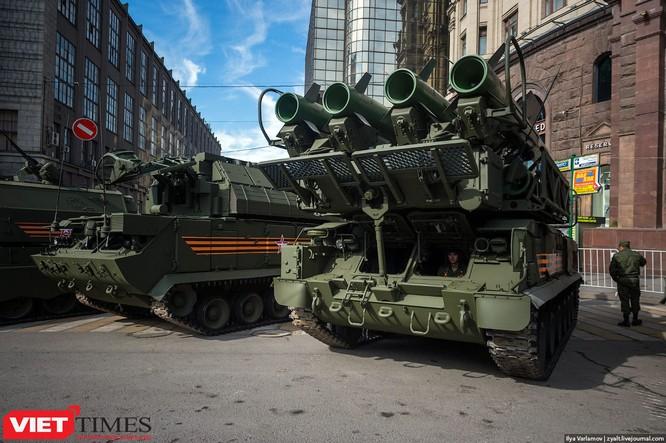 Cận cảnh hậu trường cuộc diễu hành ngày Chiến thắng quân đội Nga ảnh 32