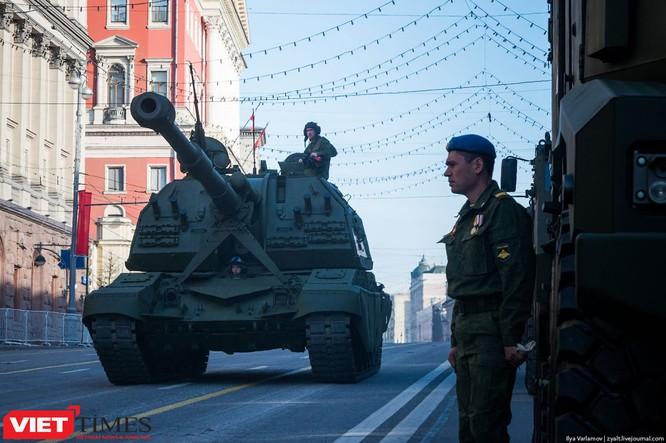 Cận cảnh hậu trường cuộc diễu hành ngày Chiến thắng quân đội Nga ảnh 41