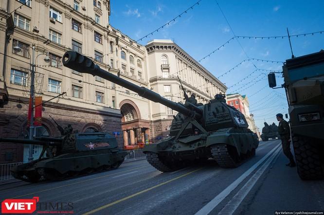 Cận cảnh hậu trường cuộc diễu hành ngày Chiến thắng quân đội Nga ảnh 42
