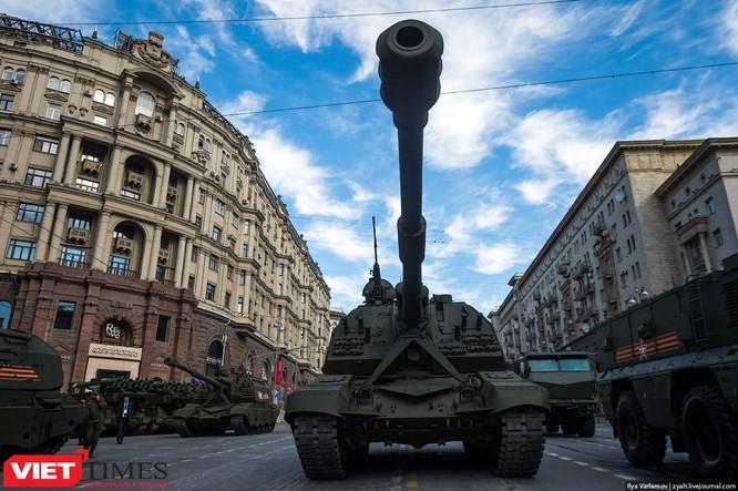 Cận cảnh hậu trường cuộc diễu hành ngày Chiến thắng quân đội Nga ảnh 43