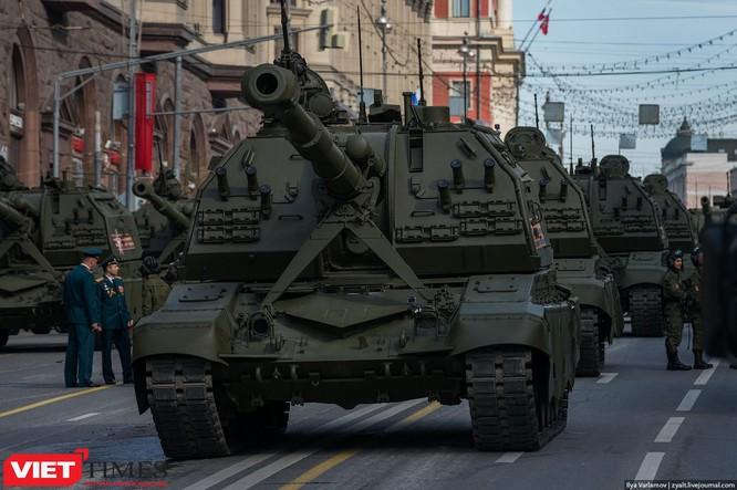 Cận cảnh hậu trường cuộc diễu hành ngày Chiến thắng quân đội Nga ảnh 44