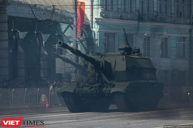 Cận cảnh hậu trường cuộc diễu hành ngày Chiến thắng quân đội Nga ảnh 45