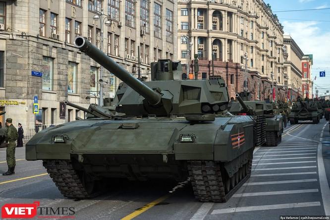 Cận cảnh hậu trường cuộc diễu hành ngày Chiến thắng quân đội Nga ảnh 48