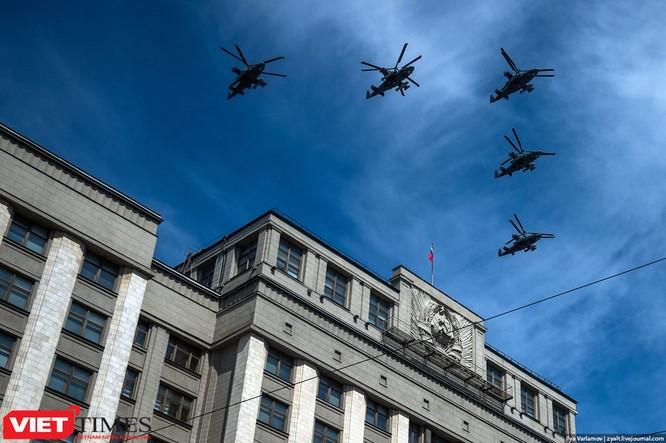 Cận cảnh hậu trường cuộc diễu hành ngày Chiến thắng quân đội Nga ảnh 52