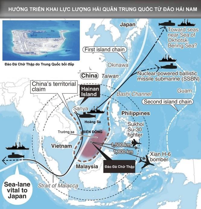 """Mỹ """"bóp chết"""" Trung Quốc với liên hoàn trận tên lửa (II) ảnh 2"""