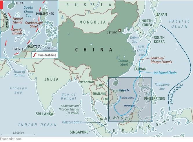 """Mỹ """"bóp chết"""" Trung Quốc với liên hoàn trận tên lửa (II) ảnh 3"""