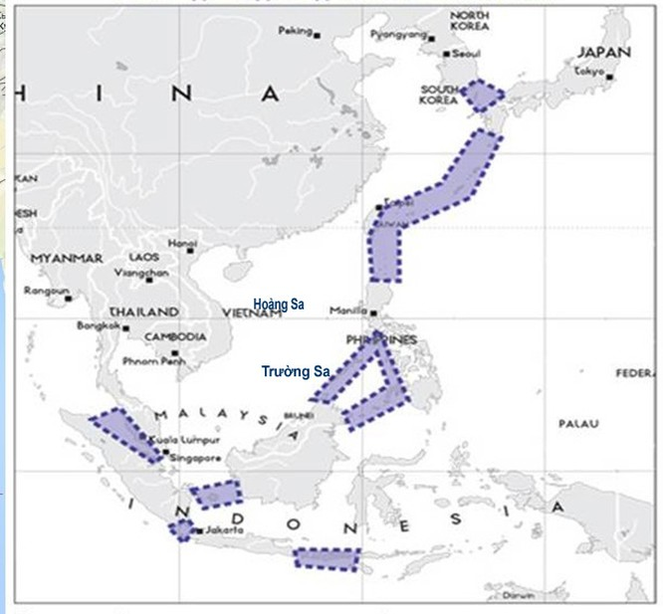 """Mỹ """"bóp chết"""" Trung Quốc với liên hoàn trận tên lửa (II) ảnh 1"""