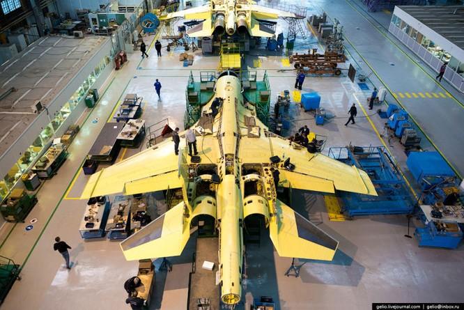 Chùm ảnh xưởng lắp ráp Su-34 Fullback Việt Nam dự kiến trang bị ảnh 12