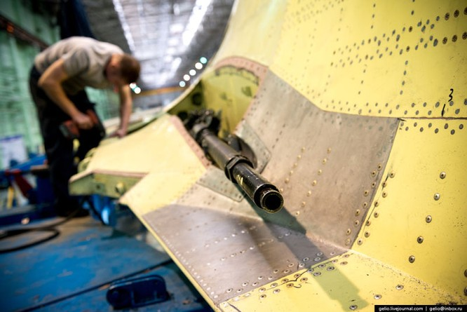 Chùm ảnh xưởng lắp ráp Su-34 Fullback Việt Nam dự kiến trang bị ảnh 13