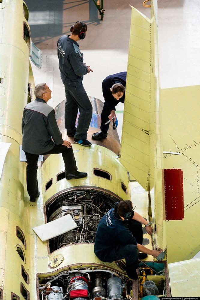 Chùm ảnh xưởng lắp ráp Su-34 Fullback Việt Nam dự kiến trang bị ảnh 19