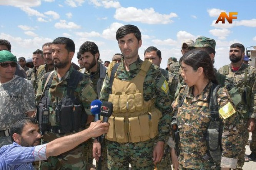 Video: Lực lượng Dân chủ Syria SDF triển khai tấn công Raqqa ảnh 1