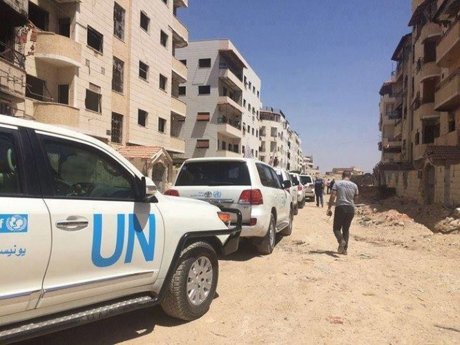 Quân đội Syria và lực lượng Hồi giáo cực đoan ký thỏa thuận ngừng bắn ở Damascus ảnh 1