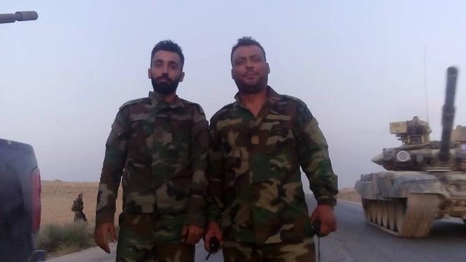 Lực lượng hỗn hợp quân đội Syria tiến quân về hướng Raqqa ảnh 1