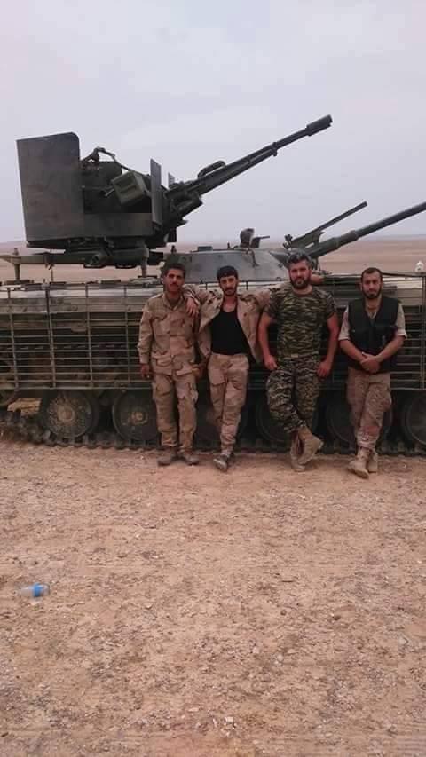 Lực lượng hỗn hợp quân đội Syria tiến quân về hướng Raqqa ảnh 3