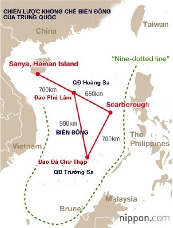 """""""Samurai Nhật"""" phá trận Trung Quốc trên Biển Đông ảnh 1"""