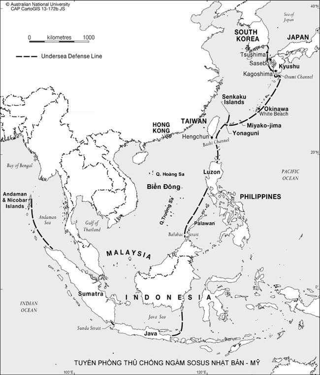 """Tàu ngầm Trung Quốc cứ ra cửa ắt """"sập lưới"""" Mỹ và Nhật Bản ảnh 1"""