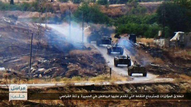 Quân đội Syria lại bị Jabhat Al Nusra đẩy lùi trên địa bàn Khan Touman, Aleppo ảnh 4
