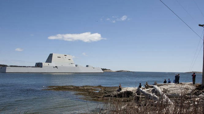Khu trục hạm dự án DDG-1000 Zumwalt, siêu phẩm công nghệ tương lai ảnh 1