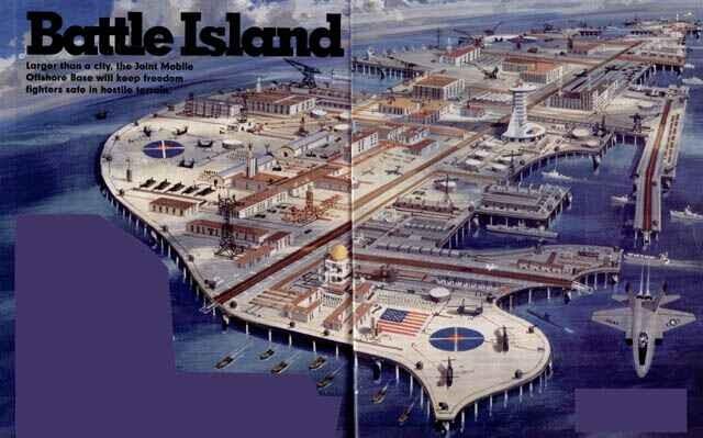 """Biển Đông nóng, Mỹ tính xây tổ hợp căn cứ nổi """"đấu"""" Trung Quốc ảnh 2"""