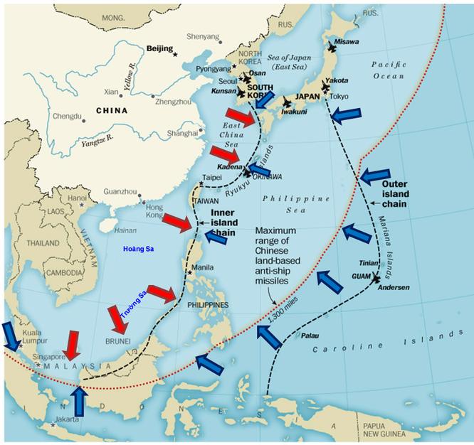 Chiến lược Liên minh Mỹ, Nhật, Hàn chống A2/AD Trung Quốc thế nào? ảnh 1