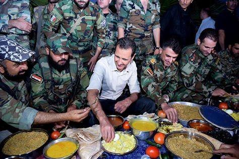 Video: Tổng thống Syria Al Assad thăm chiến trường Đông Ghouta – Damascus ảnh 1