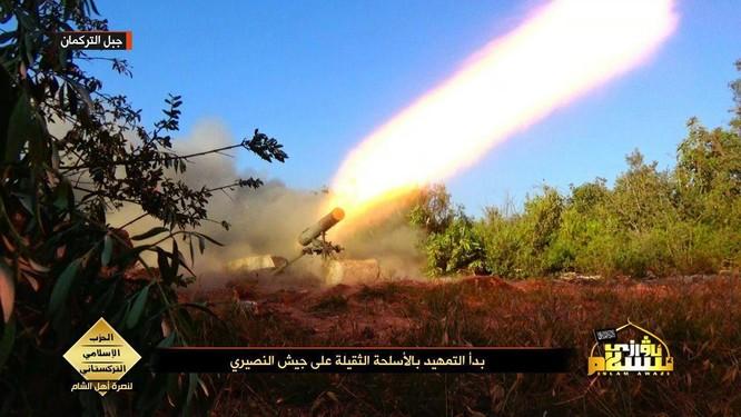 Lực lượng đảng Hồi giáo Turkmen tấn công ở Latakia ảnh 3